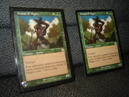 Take a look at Magic The Gathering Deck Builder 32